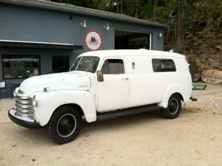 Chevrolet  Other Base 1953 Chevy Panel Truck, Rat Rod, Hot rod