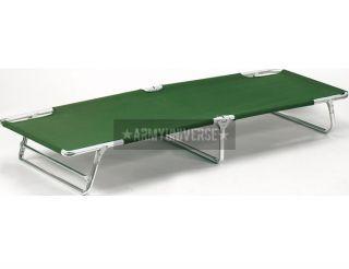 Olive Drab Military Aluminum Sturdy Camping Cot