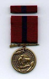 US Marine Corps USMC Good Conduct medal with ribbon bar USMC GC