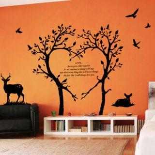 The Bambi Tree Wall Paper Decal Art Sticker Deco Vinyl Graphic Sticker