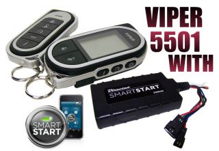 VIPER 5501 WITH SMART START MODULE CAR REMOTE START KEYLESS ENTRY 2