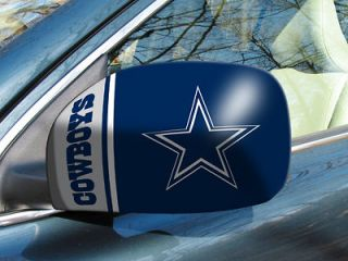 Dallas Cowboys 2 Pack Car Truck Mirror Covers   2 Sizes Available