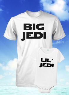 Son Shirt Set Star Wars Shirt Jedi Shirt Fathers Day Gift Dad Baby XL