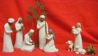 Willow Tree Christmas Nativity 6 Piece Set Figurine Miniature NEW