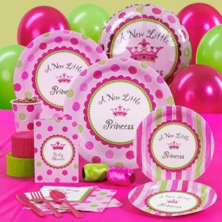 New Little Princess Girl Baby Shower Party Supplies   YOU PICK