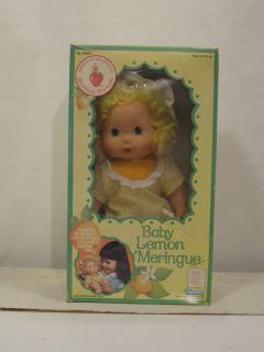 Kenner Strawberry Shortcake Baby LEMON MERINGUE blow kiss doll Vintage