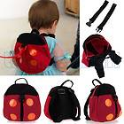 Cute Ladybug Shape Baby Toddler Safety Harness Backpack Strap Anti