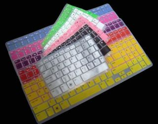 Backlight Keyboard Skin Cover Protector For Dell New Inspiron 15R