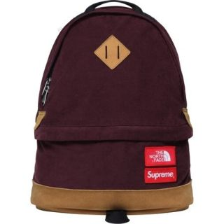 SUPREME North Face Backpack Bag Dark Purple Box Logo camp kate moss