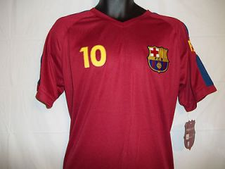 Fc Barcelona Messi Shirt Jersey Official NWT FCB Mens Extra Large XL