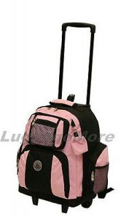 18 Large Rolling Backpack Wheeled College Bookbag Travel Carry on (10