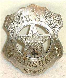 us marshal badges in Badges Obsolete