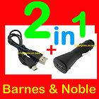 Charger Adapter Cord Barnes Noble eReader Nook Simple Touch