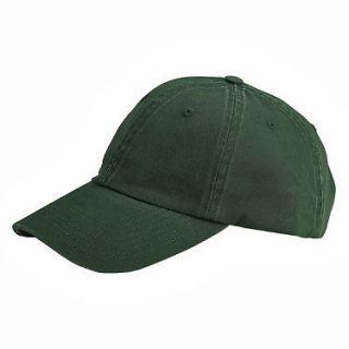 NEW PLAIN LOW PROFILE BASEBALL HAT CAP SOLID OLIVE