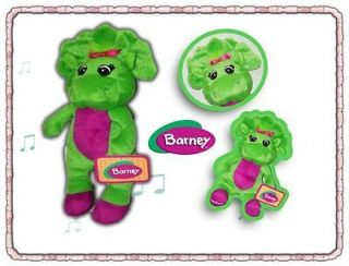 Barneys Best Friend Baby Bop 11inch Plush Singing Doll
