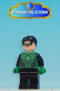 Custom LEGO Batman 2 DC Heroes minifig  Green Lantern #18eA