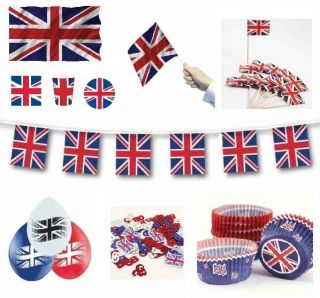 GREAT BRITAIN (Union Jack) Partyware/Deco​rations/Balloo​ns (UJ