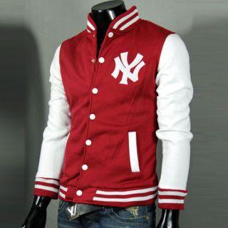 York Yankees Logo Baseball Jackets Coats For Men Uniform SWEATER NEW