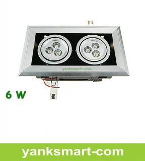 Saving High Quality Aluminum Double light LED Bean Pot Lamp YL036