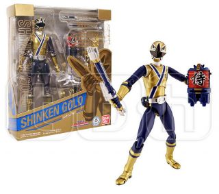 SHINKEN GOLD figure POWER RANGER s.h.figuarts SAMURAI sentai