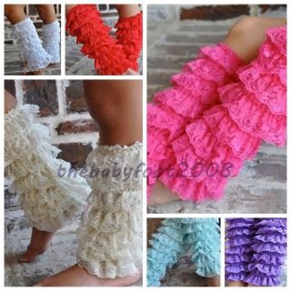 Baby Girls Lace Petti Ruffles Leg Arm Warmers for Rompers Tutu 1 5Y