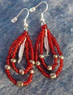 native american beaded earrings in Ethnic, Regional & Tribal