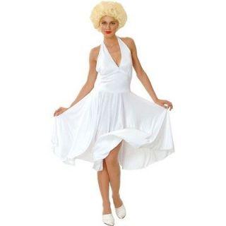 Marilyn Monroe Plus Size XL 22 24 Hollywood Celebrity Fancy White