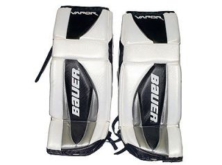 USED* BAUER Goalie pads (36/91cm plus)+Blocker+ Trapper VAPOR