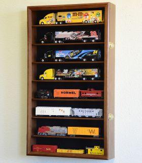 64 Scale Hot Wheels Semi Big Rig Trailer Truck Display Case Cabinet