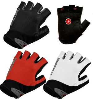 Uno Short Finger Fingerless Bike Cycling Gloves SIZES/M/L/XL
