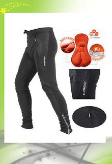 New mens cycling pants 3D winter wind proof pants F0104 Lycra fabric