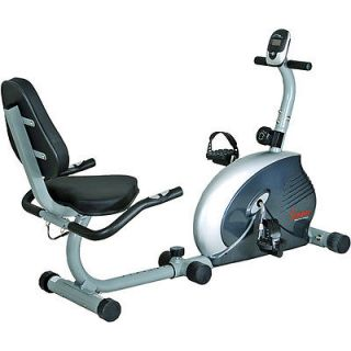 Magnetic Stationary Recumbent Bike Exercise Indoor Fitness Trainer New
