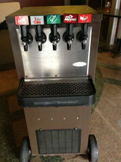 soda machine rental