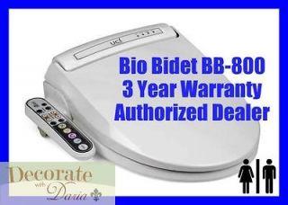BIO BIDET BB 800 ROUND Electronic Toilet Seat Warm Jet Wash Personal
