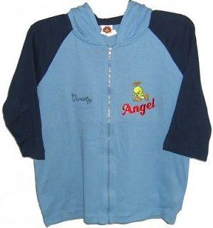 Tweety Bird Pie L Sweater Hoodie Jacket NEW Ladies Womens Large 16/18