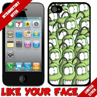 Funny Crazy Cartoon Pear Fruit Army cover phone case for Iphone 4 4S