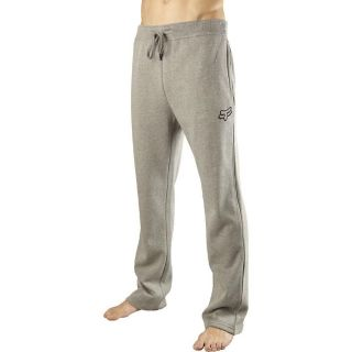 FOX RACING MX MOTOCROSS BMX SWISHA SWEAT FLEECE PANTS GREY LARGE