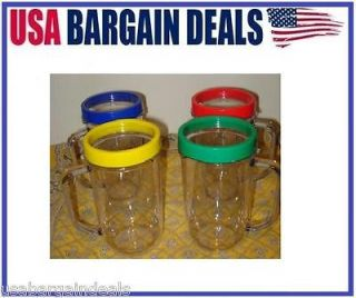 Magic Bullet 4 Party Mugs Cups LOWEST PRICE BRAND NEW