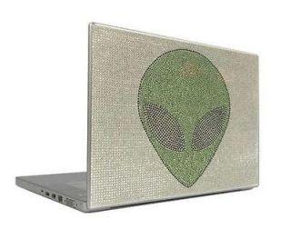 on Gold 12.1 Crystal Rhinestone Bling Laptop Sticker Cover Skin Case
