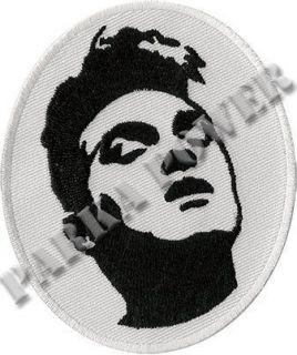 Morrissey patch, badge, The Smiths, Bona Drag
