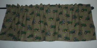 john deere curtain in Curtains, Drapes & Valances
