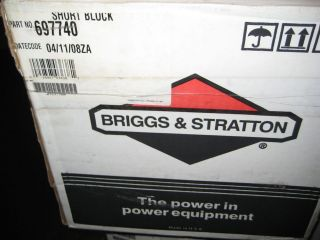& STRATTON 697740 SHORT BLOCK NEW IN BOX MOWER GO CART TRACTOR PARTS