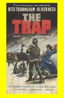THE TRAP   OLIVER REED , RITA TUSHINGHAM 1966 FILM ON DVD ( D249