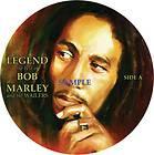 BOB MARLEY LEGEND COLORED VINYL LP RECORD W HEMP COVER