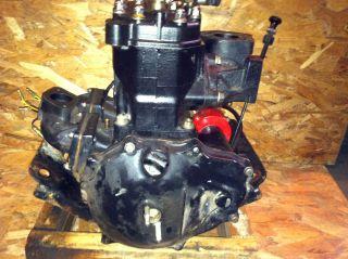 KAWASAKI JET SKI 650 SX 650SX COMPLETE ENGINE MOTOR CRANKCASE CRANK