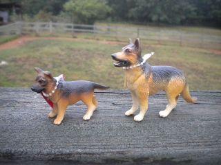 German Shepherd & Pup by Safari Ltd; Shephard/dog/toy