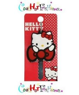 Loungefly Hello Kitty Big Red Bow Key Cap House Car Home Office School