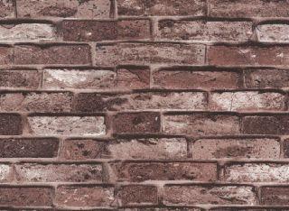 Brown Brick Texture Vinly Wallpaper Bricks for Kitchen Fireplace Free