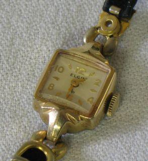 elgin ladies watch in Vintage & Antique Jewelry
