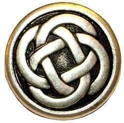 Celtic Knot Medallion Pendant Necklace Jewelery IRISH TOKEN FREE